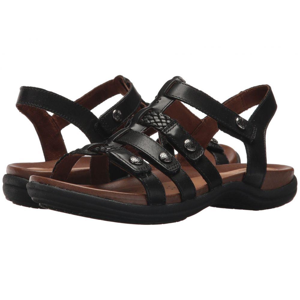 ロックポート Rockport Cobb Hill Collection レディース シューズ・靴 サンダル・ミュール【Cobb Hill Rubey T Strap】Black Leather