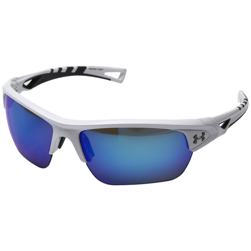 アンダーアーマー Under Armour メンズ メガネ・サングラス【Octane】Shiny White/Charcoal Frame/Gray/Blue Multiflection Lens