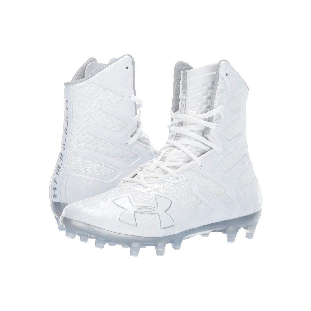 アンダーアーマー Under Armour メンズ アメリカンフットボール シューズ・靴【UA Highlight MC】White/White