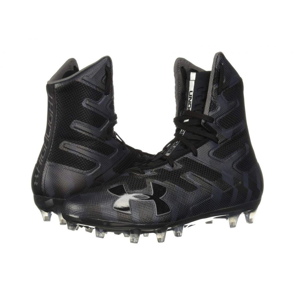アンダーアーマー Under Armour メンズ アメリカンフットボール シューズ・靴【UA Highlight MC】Black/Graphite
