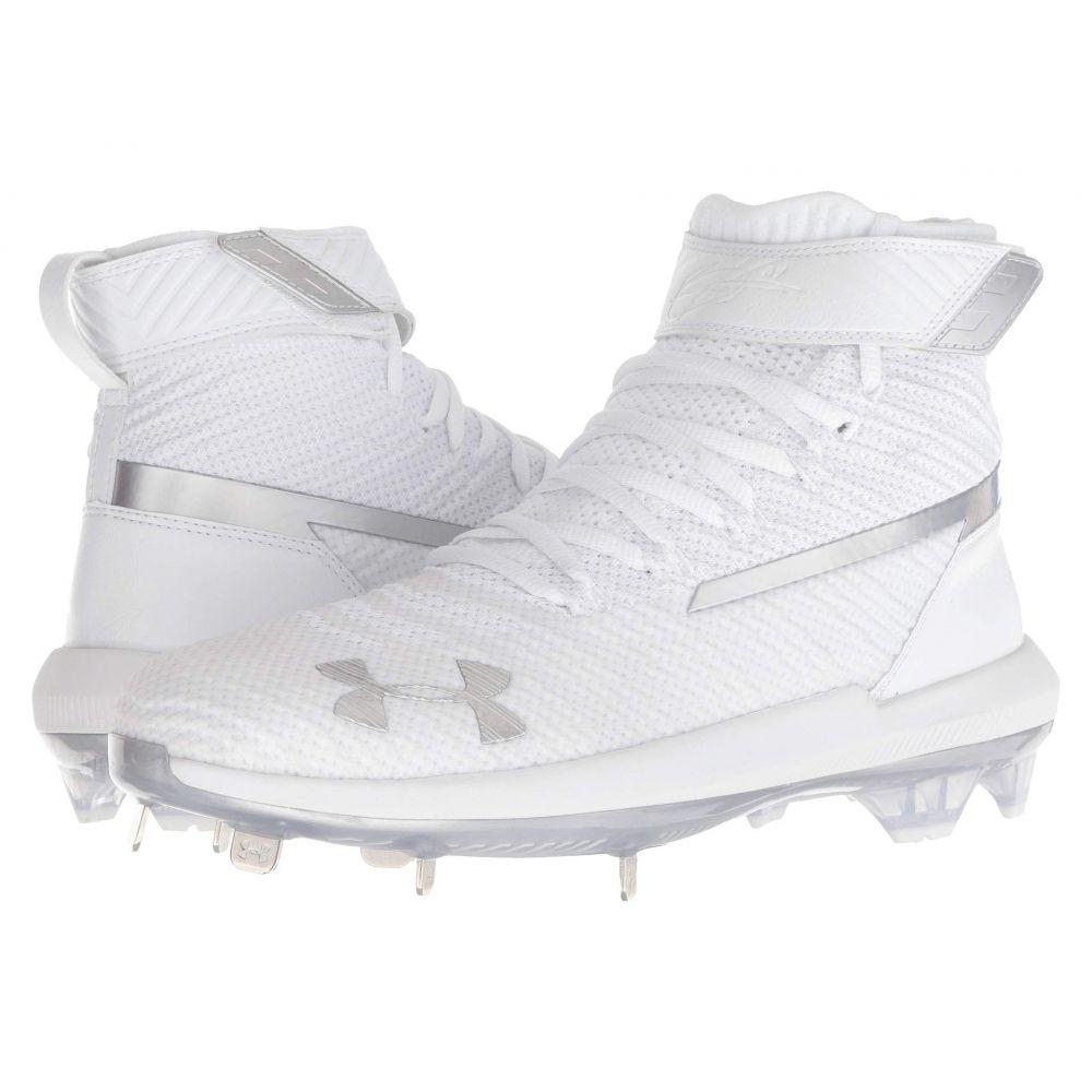 アンダーアーマー Under Armour メンズ 野球 シューズ・靴【UA Harper 3 Mid ST】White/White