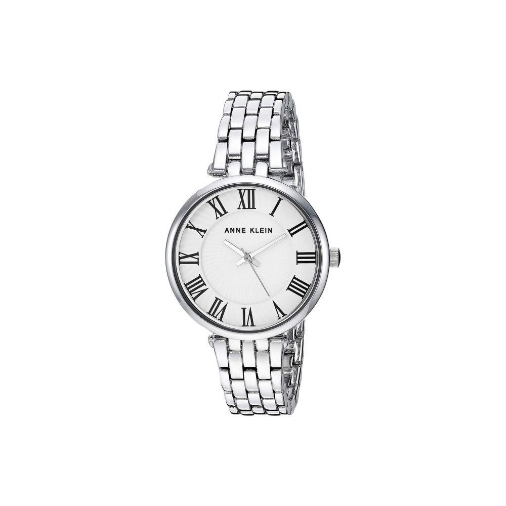 アン クライン Anne Klein レディース 腕時計【AK-3323WTSV】Silver-Tone