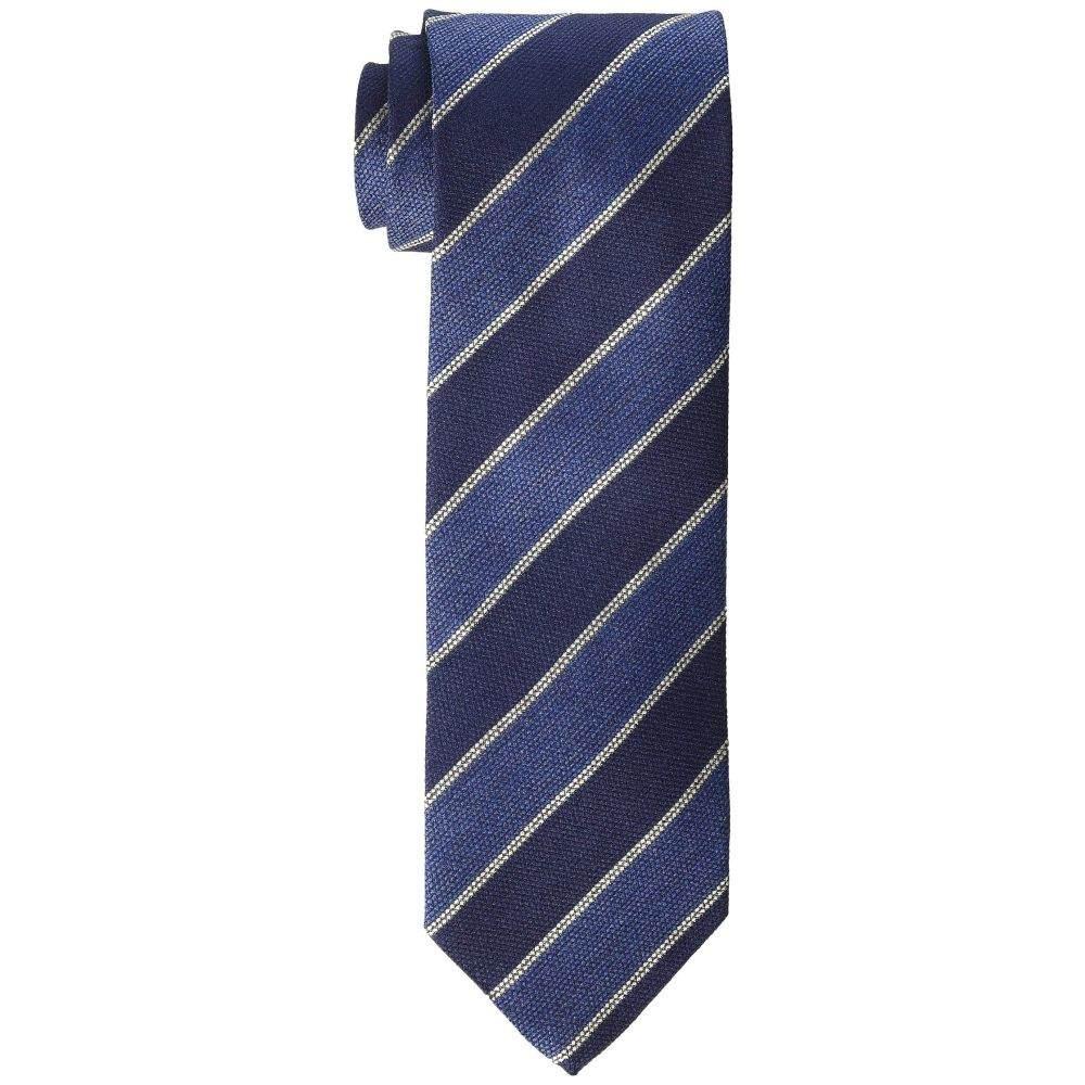 イートン Eton メンズ ネクタイ【Bold Stripe Tie】Blue