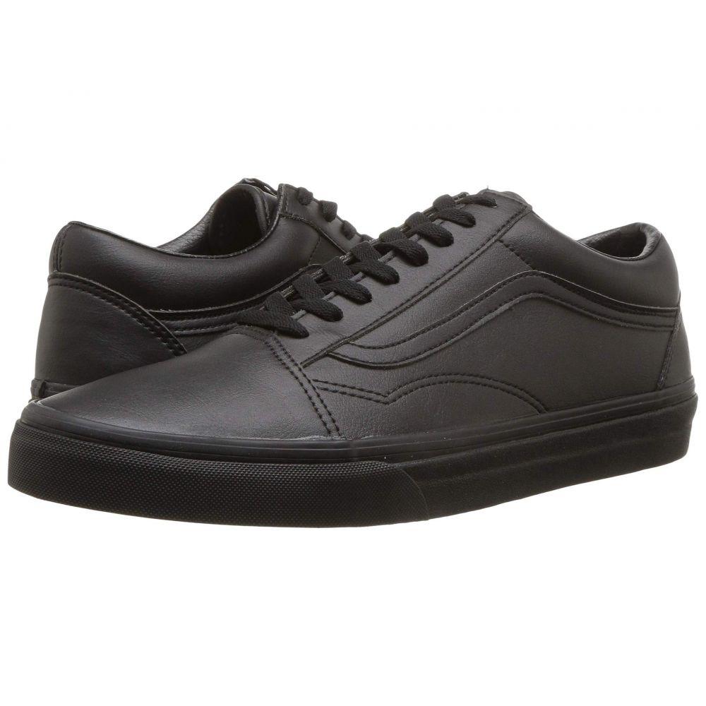 ヴァンズ Vans レディース シューズ・靴 スニーカー【Old Skool(TM)】Classic Tumble) Black Mono