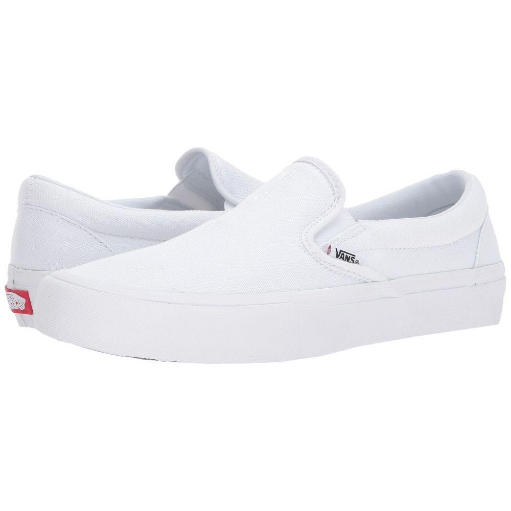 ヴァンズ Vans メンズ シューズ・靴 スリッポン・フラット【Slip-On Pro】White/White
