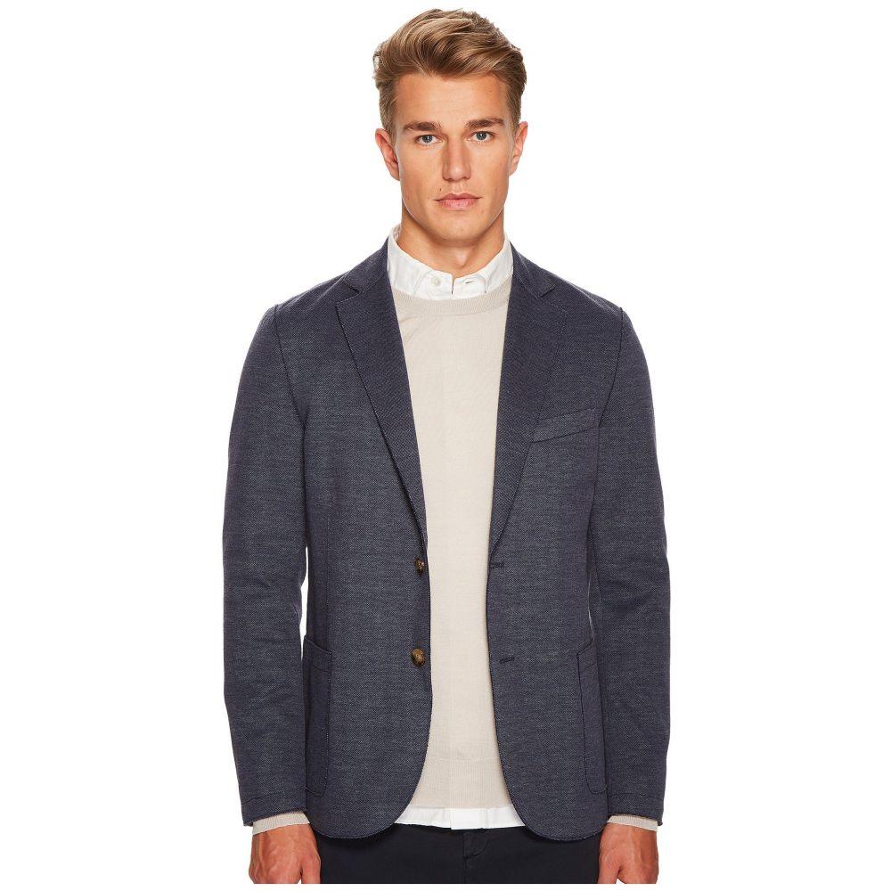 イレブンティ eleventy メンズ アウター ジャケット【Laser Cut Jersey Jacket】Denim