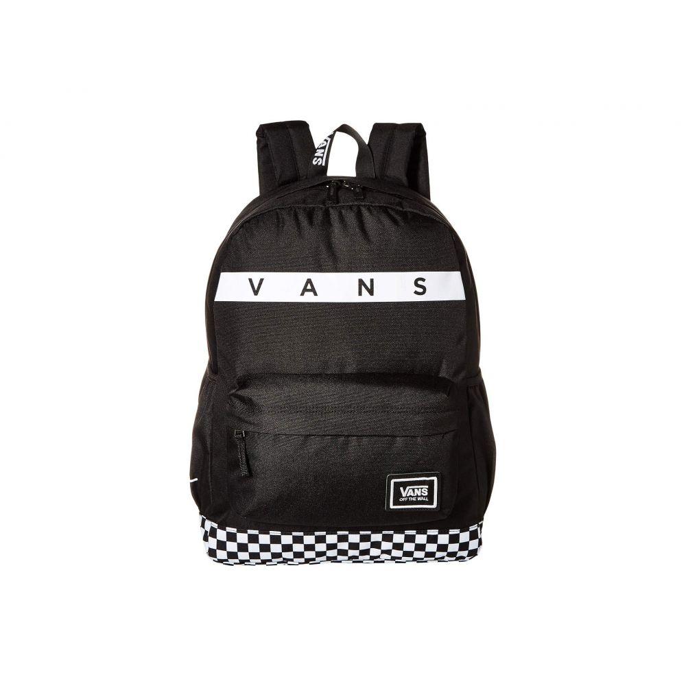 ヴァンズ Vans レディース バッグ バックパック・リュック【Sporty Realm Plus Backpack】Black/Face Off