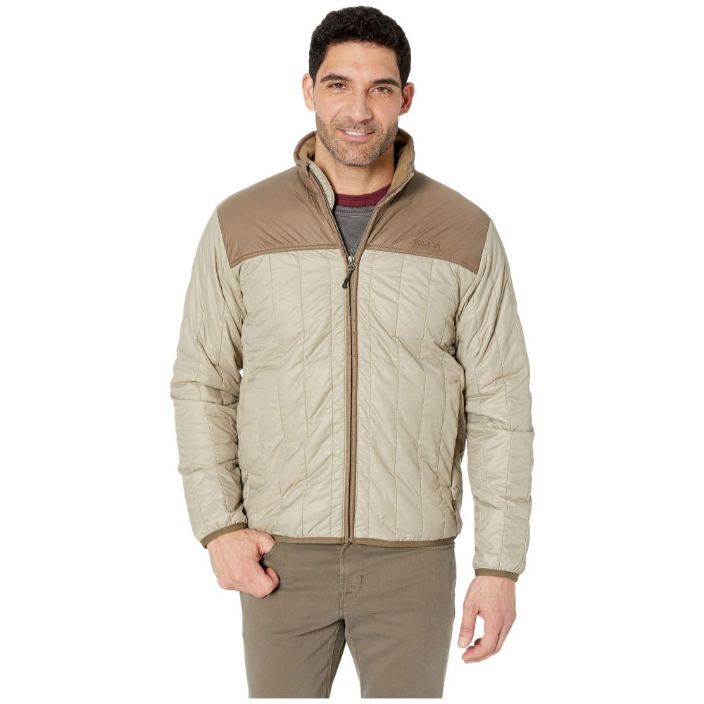 フィルソン Filson メンズ アウター ジャケット【Ultra Light Quilted Jacket】Rustic Tan