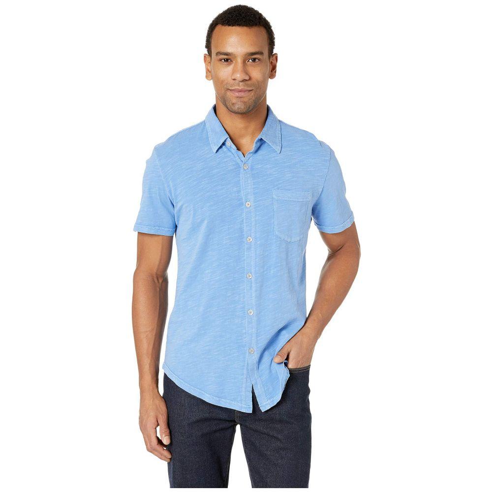 モドオードック Mod-o-doc メンズ トップス 半袖シャツ【Montana Short Sleeve Button Front Shirt】Delft