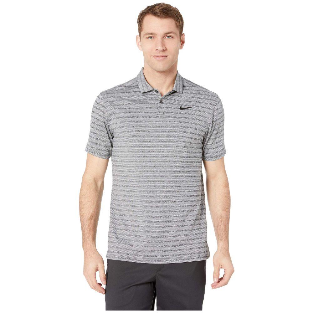 ナイキ Nike Golf メンズ トップス ポロシャツ【Dry Vapor Stripe Polo】Black/Pure/Black