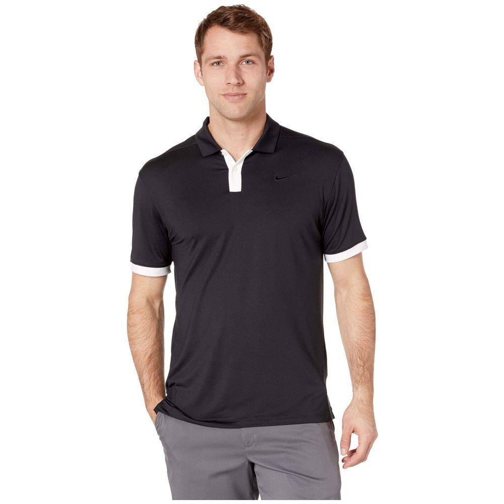 ナイキ Nike Golf メンズ トップス ポロシャツ【Dry Vapor Solid Polo】Black/White/Black