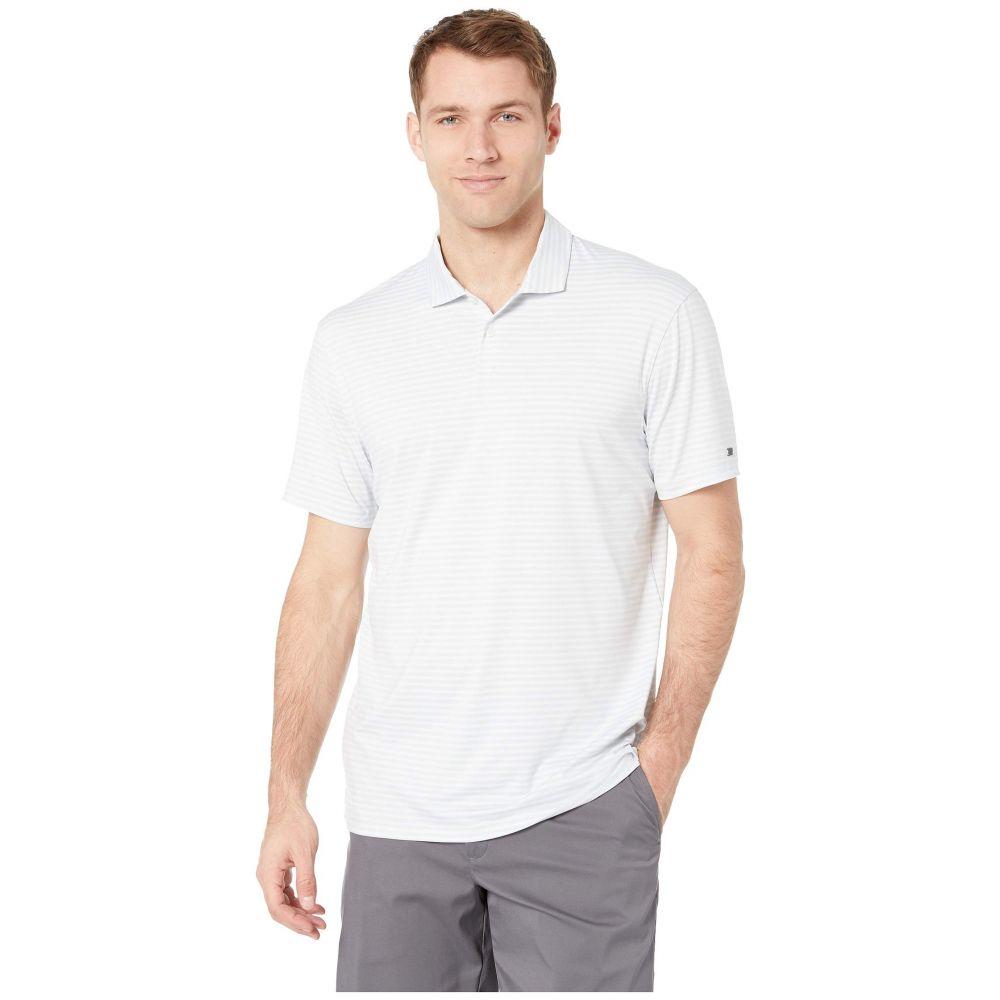 ナイキ Nike Golf メンズ トップス ポロシャツ【Dry Stripe Polo】Pure Platinum