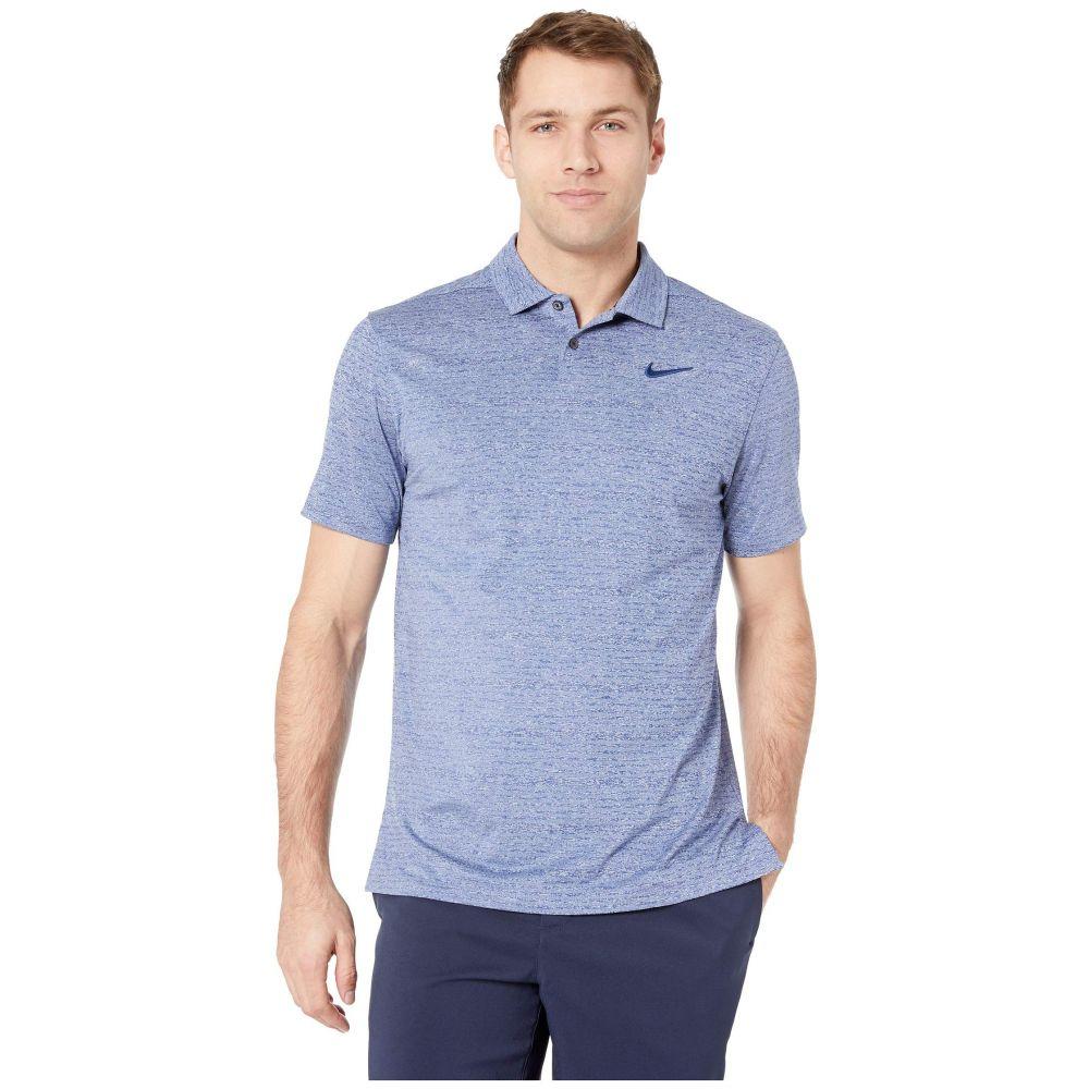 ナイキ Nike Golf メンズ トップス ポロシャツ【Dry Vapor Heather Polo】Blue Void/Pure/Blue Void