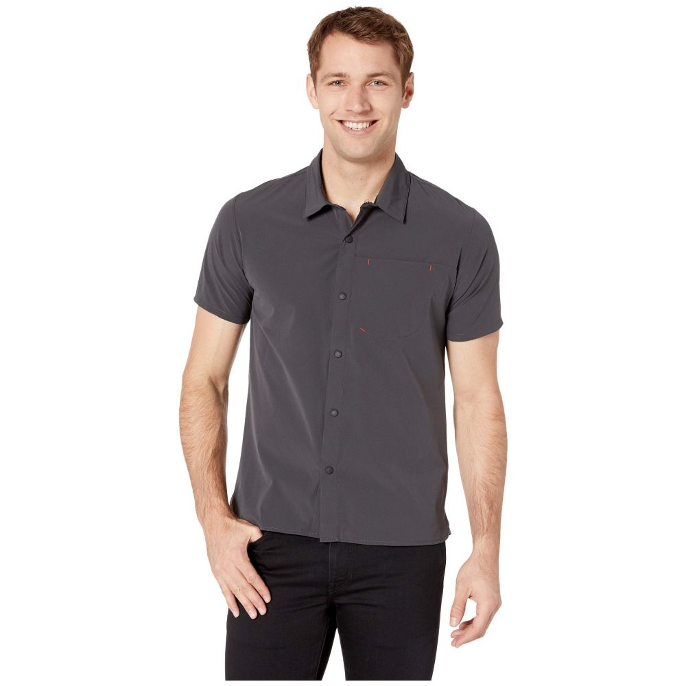 ザ ノースフェイス The North Face メンズ トップス 半袖シャツ【North Dome Short Sleeve Shirt】Asphalt Grey