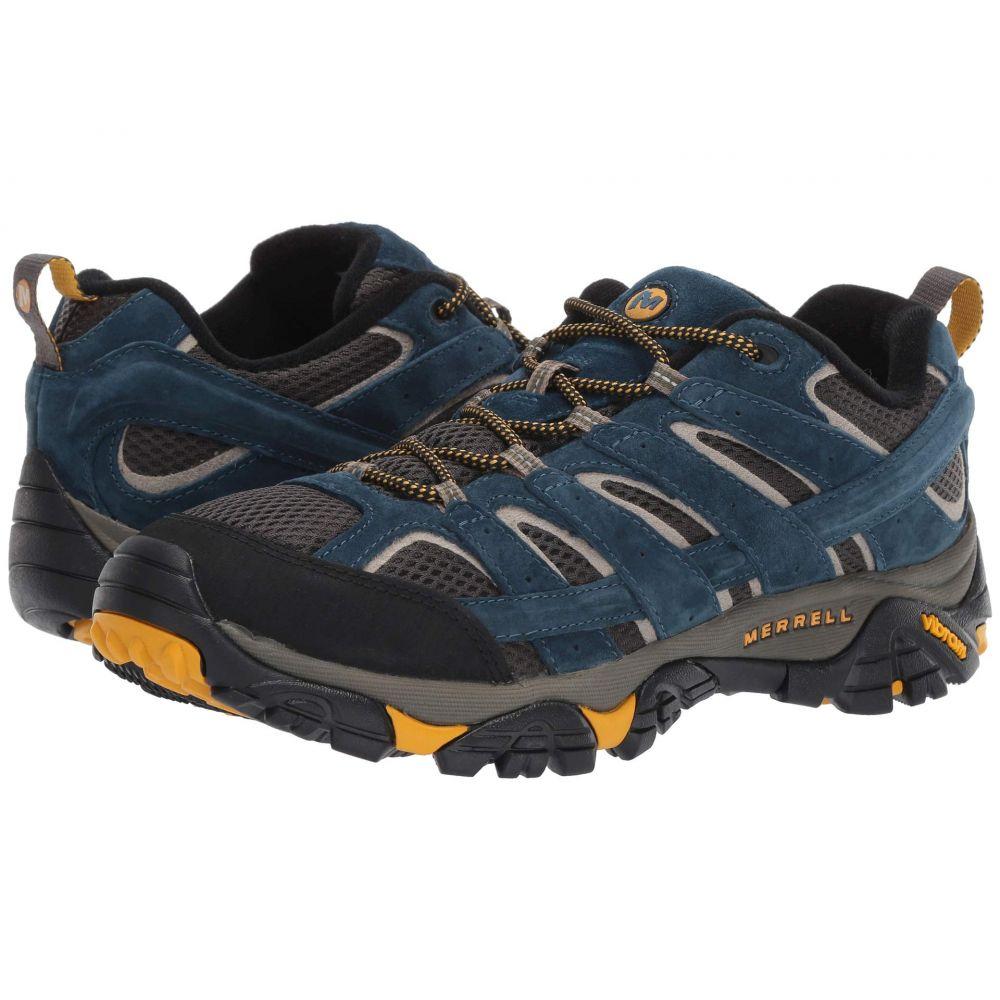 メレル Merrell メンズ ハイキング・登山 シューズ・靴【Moab 2 Vent】Olive Blue