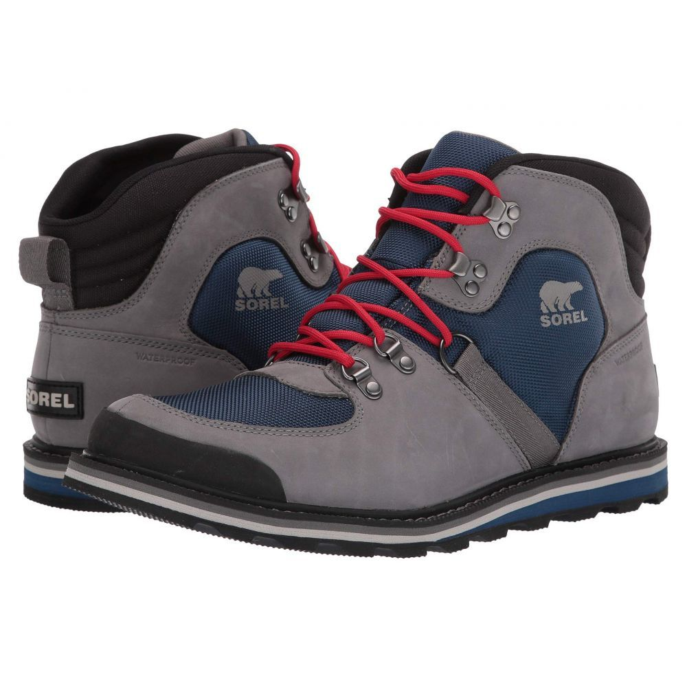 ソレル SOREL メンズ ハイキング・登山 シューズ・靴【Madson(TM) Sport Hiker Waterproof】Carbon