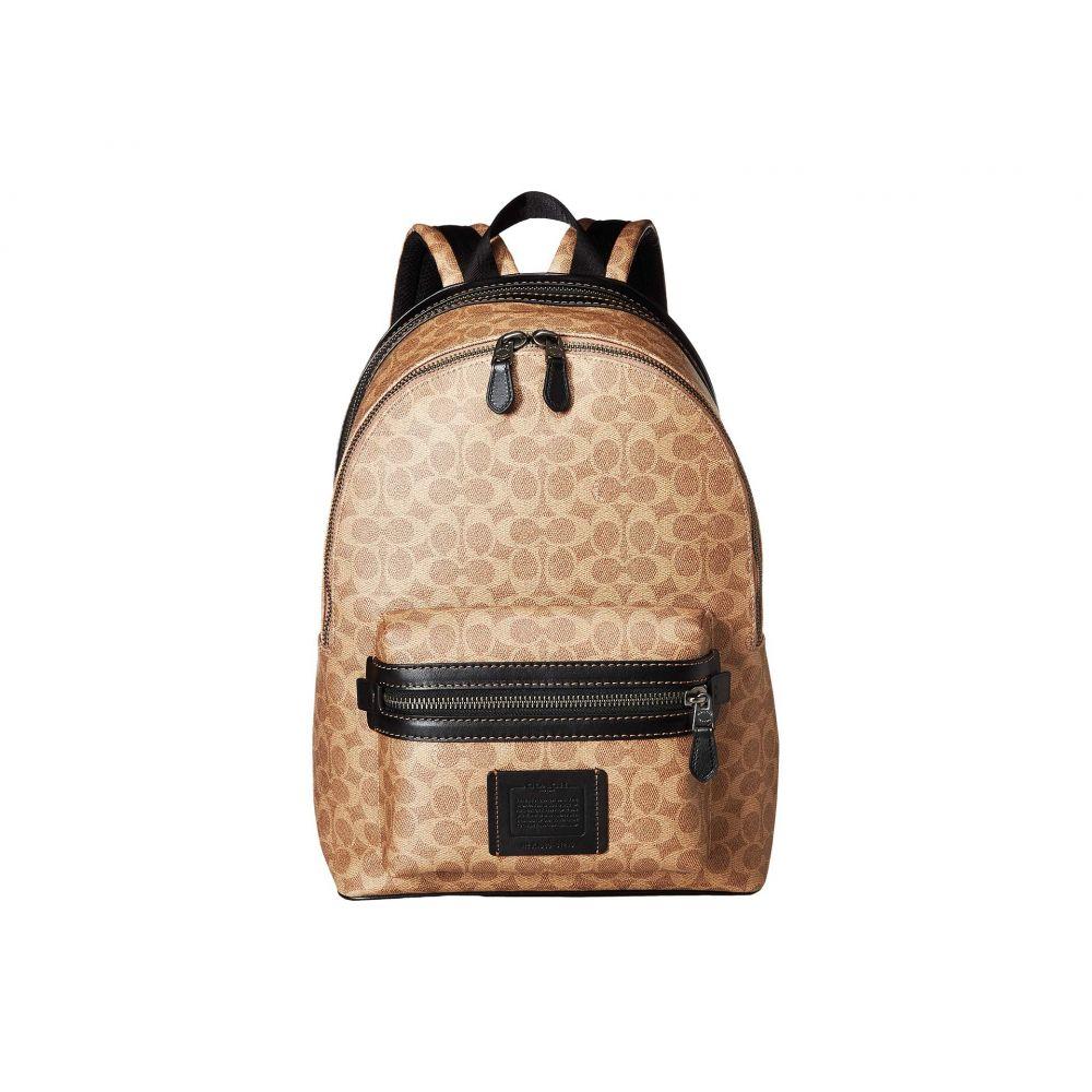 コーチ COACH メンズ バッグ バックパック・リュック【Academy Backpack in Signature Coated Canvas】Beige 1