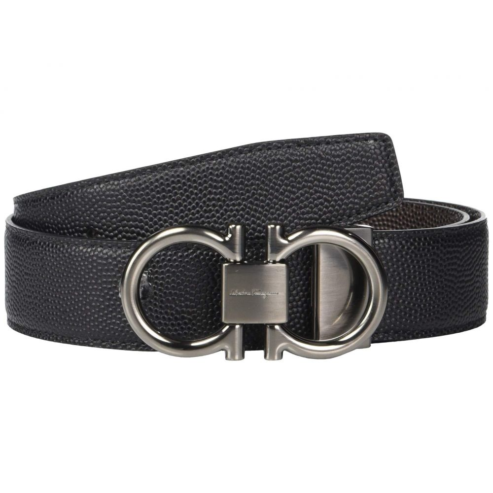 サルヴァトーレ フェラガモ Salvatore Ferragamo メンズ ベルト【Adjustable/Reversible Belt - 679938】Black/Chocolate