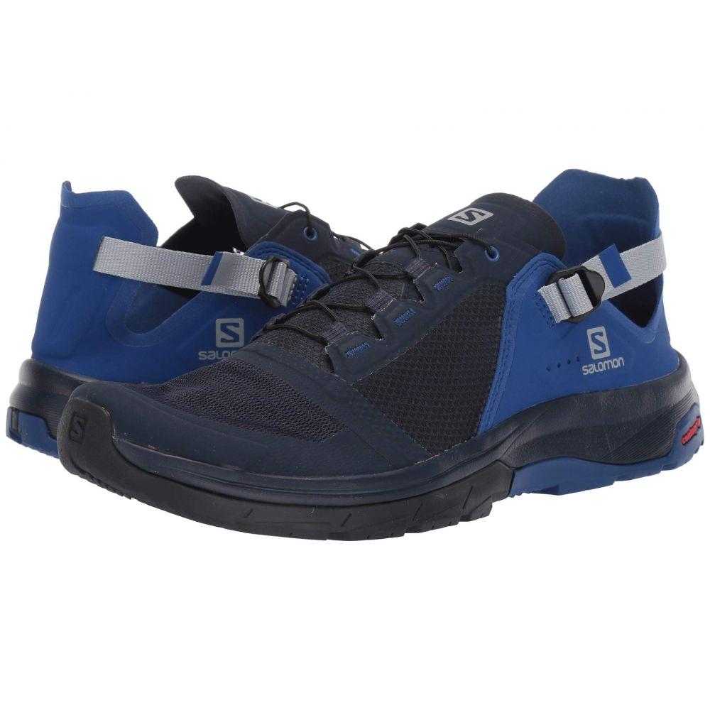 サロモン Salomon メンズ ハイキング・登山 シューズ・靴【Techamphibian 4】Navy Blazer/Mazarine Blue Wil/Quarry