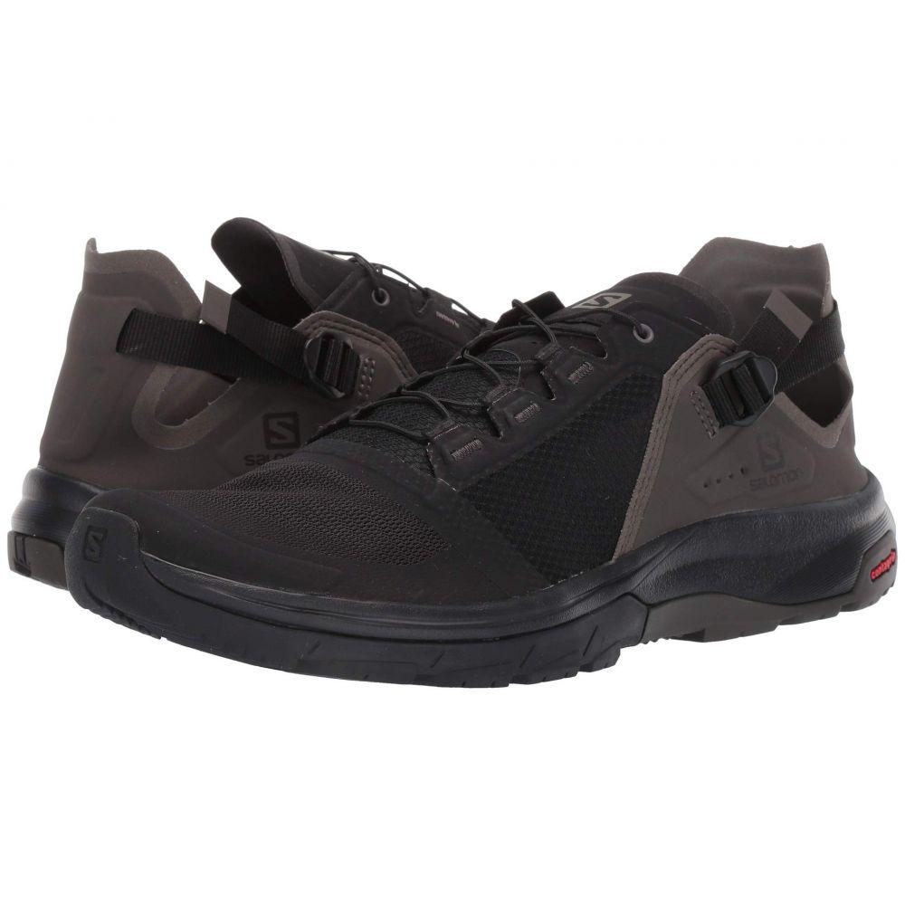 サロモン Salomon メンズ ハイキング・登山 シューズ・靴【Techamphibian 4】Black/Beluga/Castor Gray