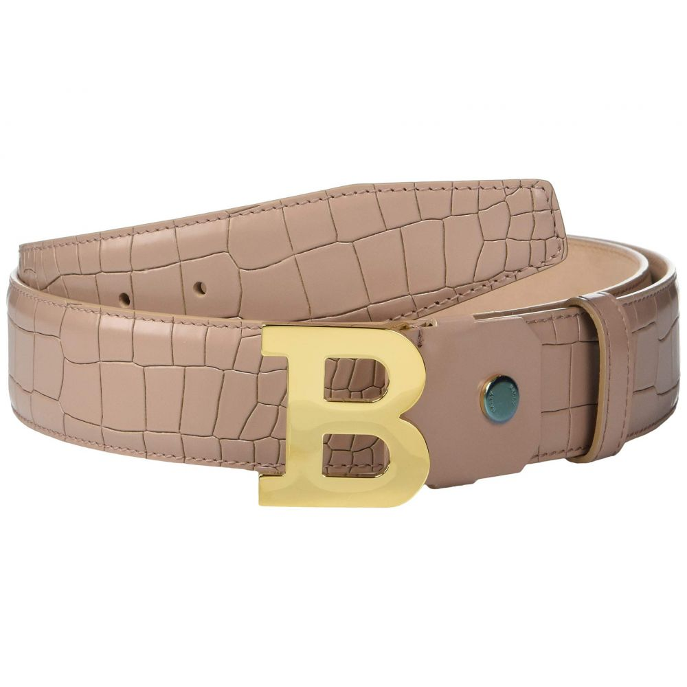 バリー Bally メンズ ベルト【Adjustable B Buckle Belt】Nude