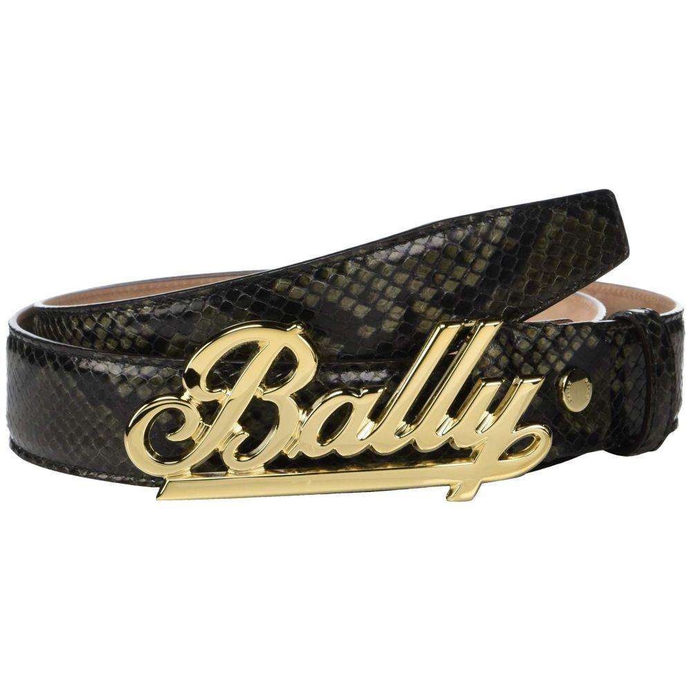 バリー Bally メンズ ベルト【Adjustable Swoosh Belt】Fango