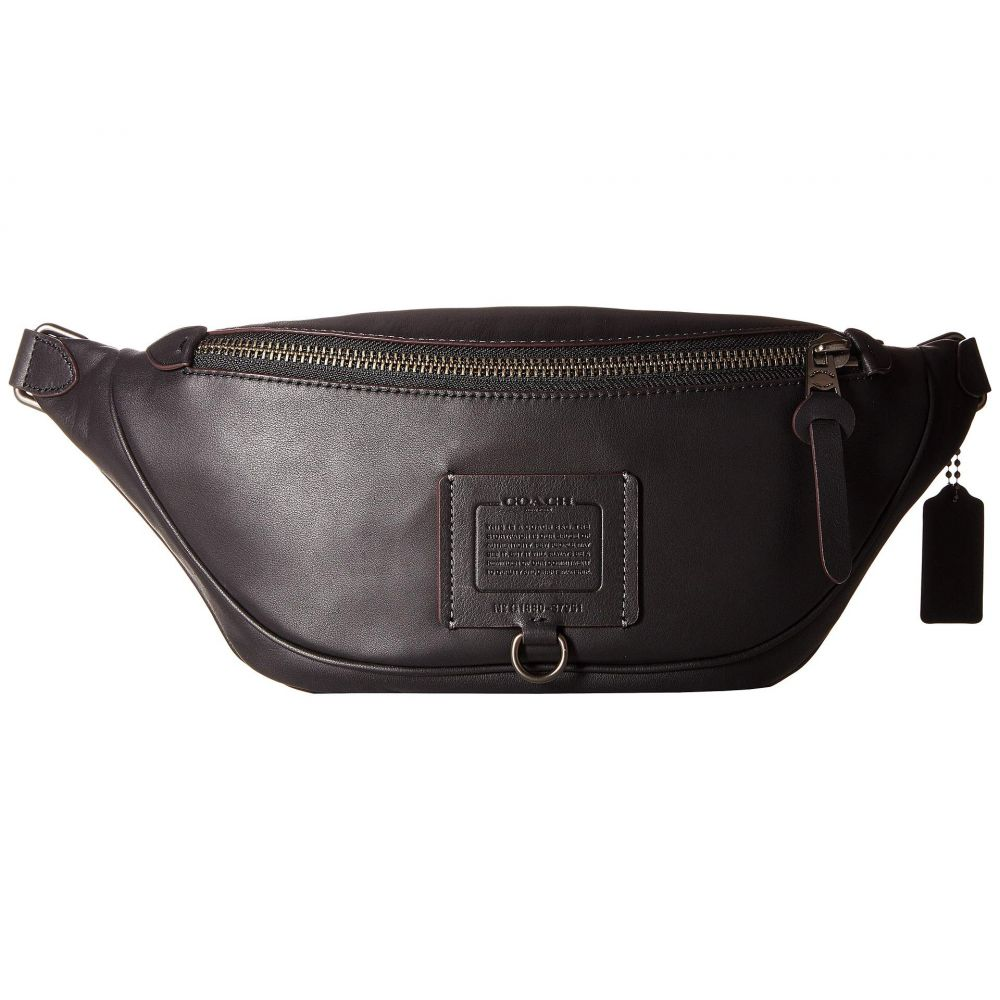 コーチ COACH メンズ バッグ ボディバッグ・ウエストポーチ【Rivington Utility Pack in Soft Grain Leather】Black