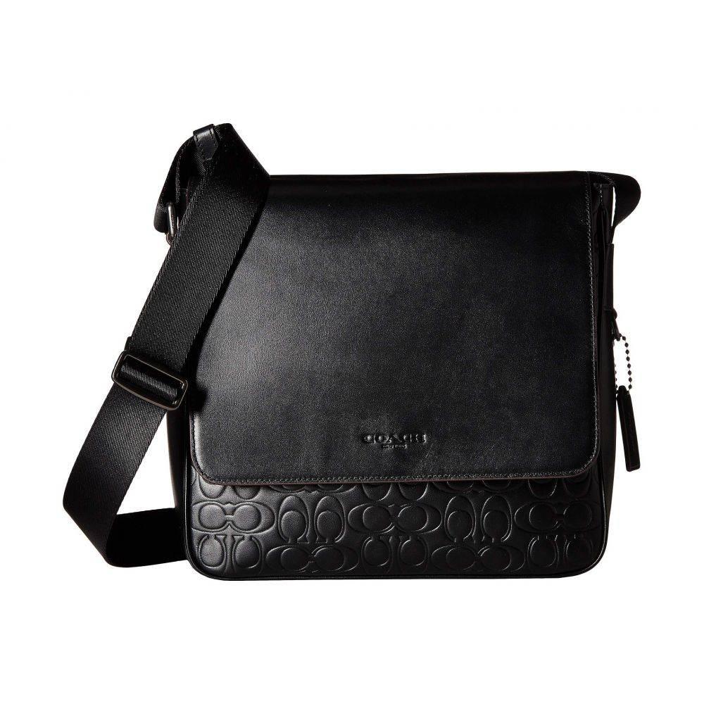 コーチ COACH メンズ バッグ メッセンジャーバッグ【Metropolitan Map Bag in Signaure Leather】Black