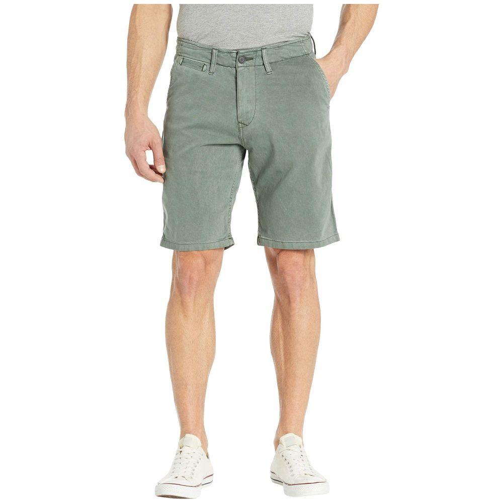 ラッキーブランド Lucky Brand メンズ ボトムス・パンツ ショートパンツ【Flat Front Shorts】Dark Forest