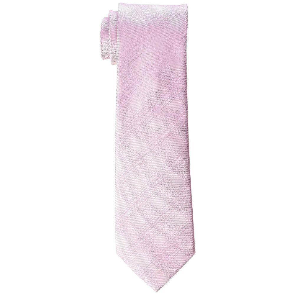 カルバンクライン Calvin Klein メンズ ネクタイ【Shadow Plaid】Pink