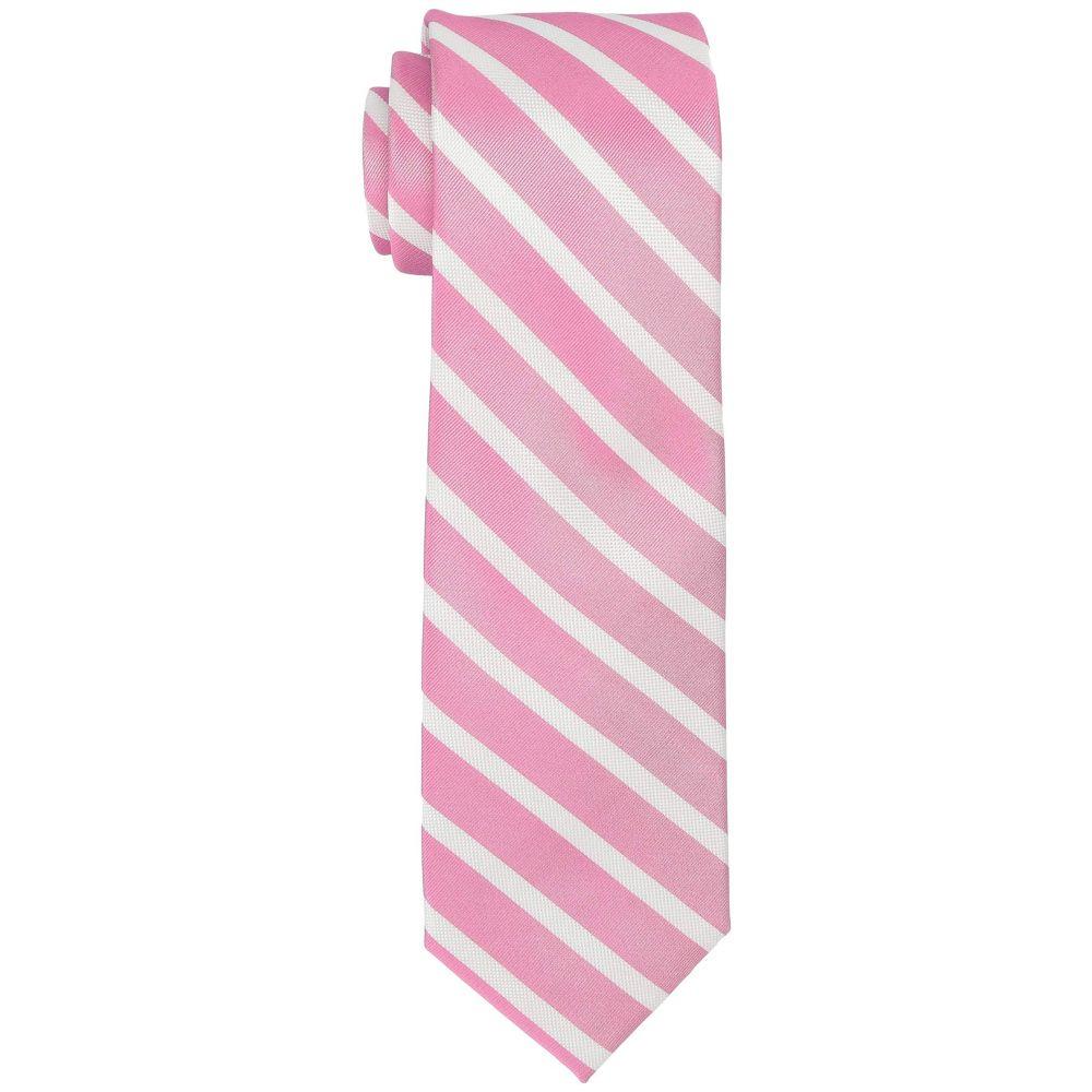 トミー ヒルフィガー Tommy Hilfiger メンズ ネクタイ【Sedgwick Stripe】Pink