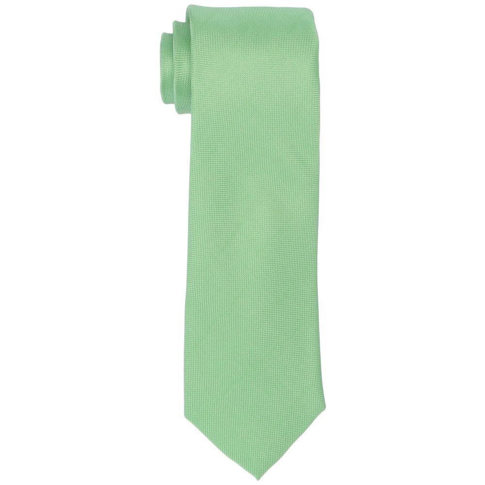 トミー ヒルフィガー Tommy Hilfiger メンズ ネクタイ【Specialty Oxford Solid】Green