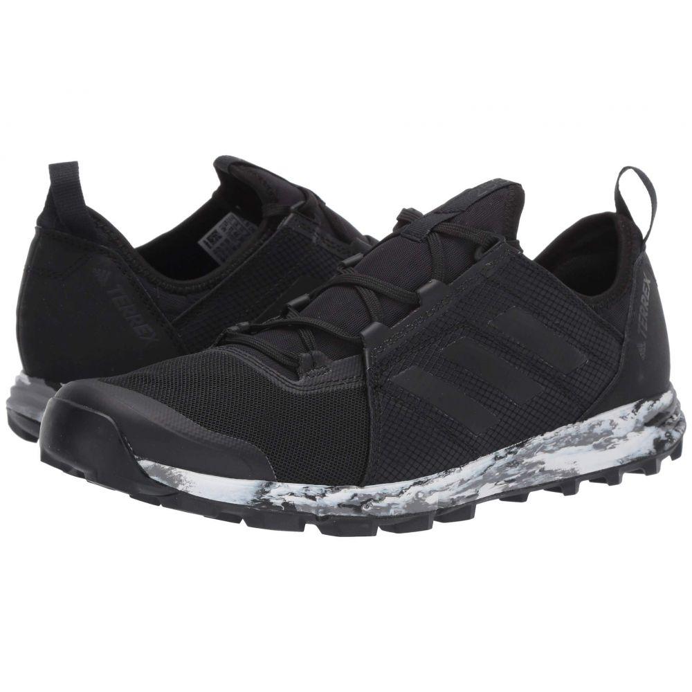アディダス adidas Outdoor メンズ ランニング・ウォーキング シューズ・靴【Terrex Speed】Black/Black/Black 2