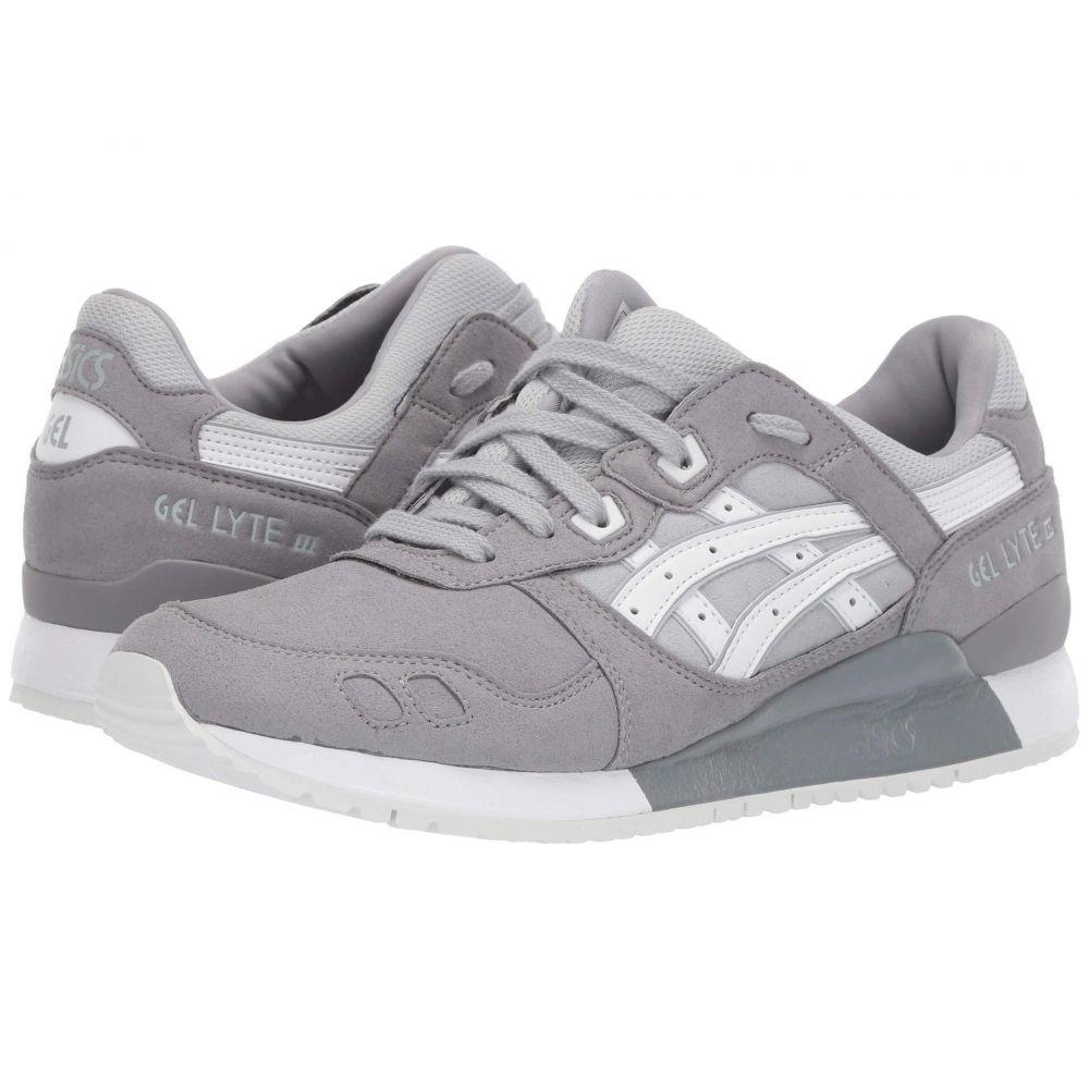 アシックス ASICS Tiger メンズ ランニング・ウォーキング シューズ・靴【Gel-Lyte III】Aluminum/White
