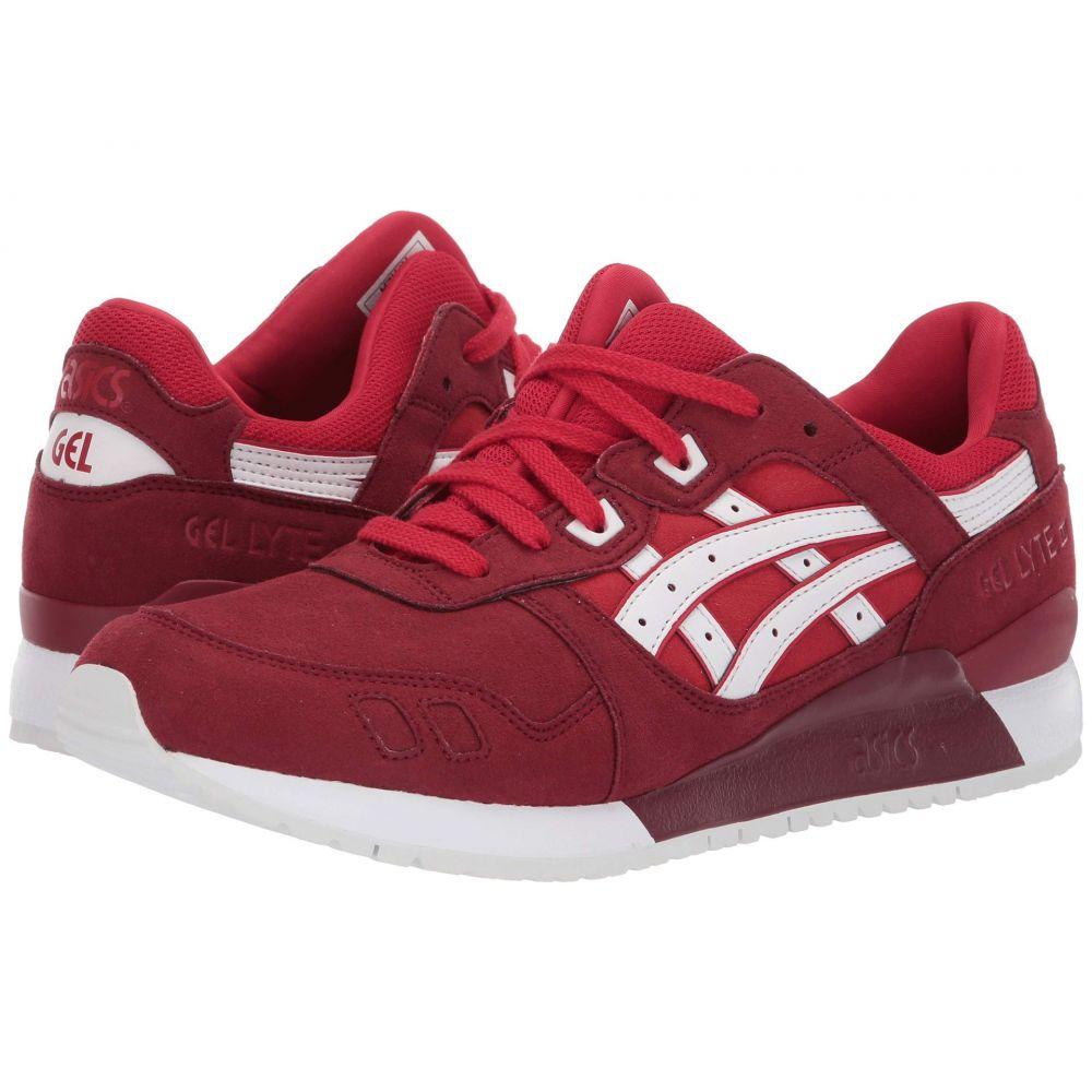 アシックス ASICS Tiger メンズ ランニング・ウォーキング シューズ・靴【Gel-Lyte III】True Red/True Red