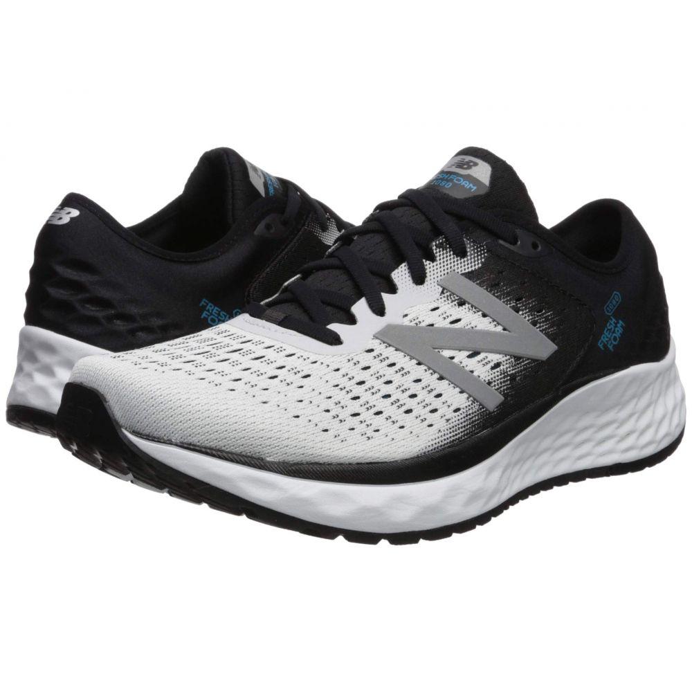 ニューバランス New Balance メンズ ランニング・ウォーキング シューズ・靴【Fresh Foam 1080v9】White/Black