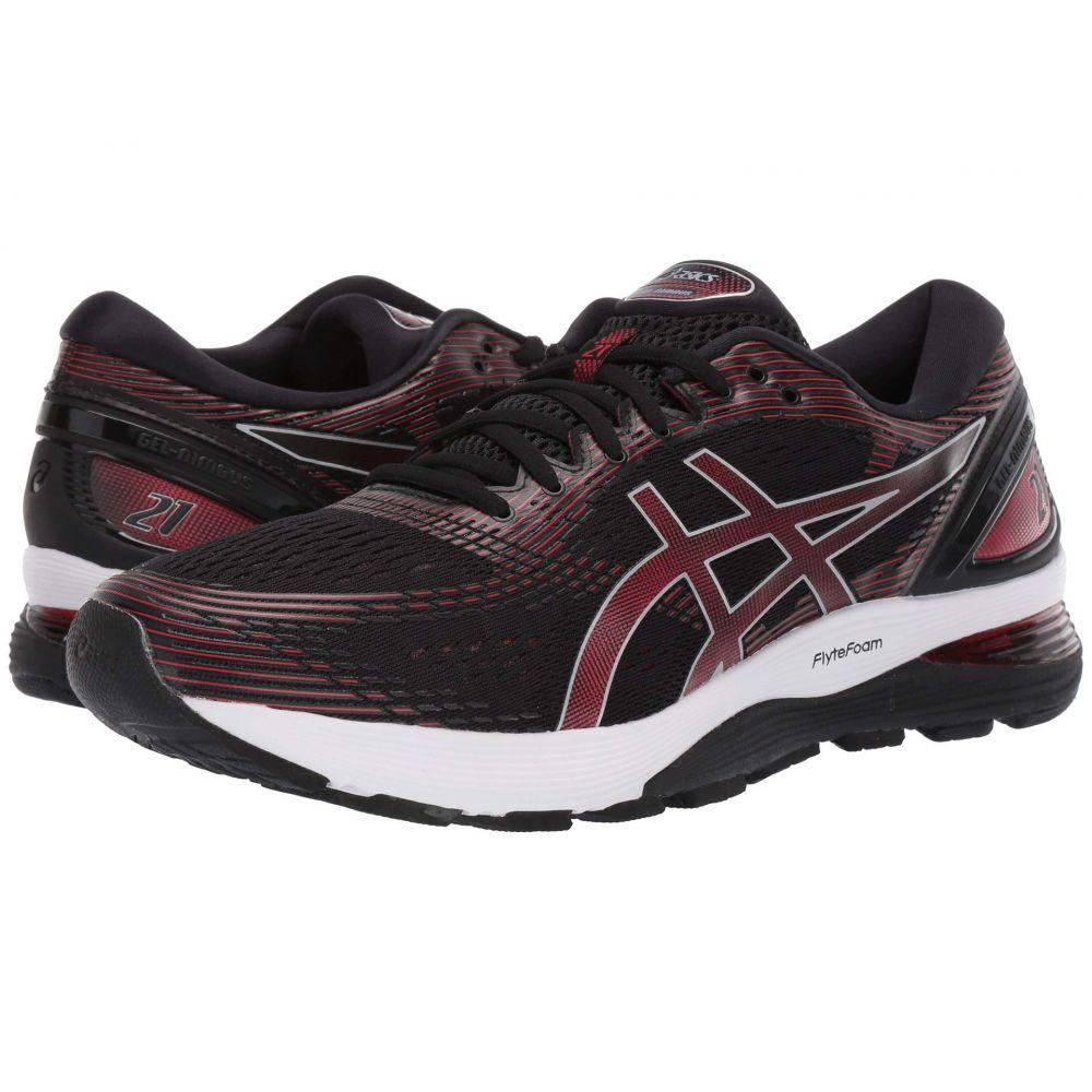 アシックス ASICS メンズ ランニング・ウォーキング シューズ・靴【GEL-Nimbus 21】Black/Classic Red