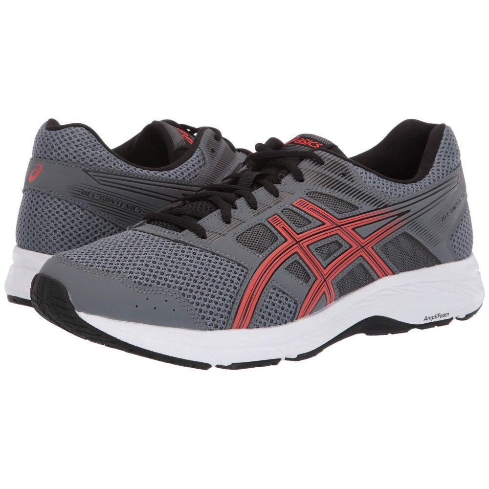 アシックス ASICS メンズ ランニング・ウォーキング シューズ・靴【GEL-Contend 5】Steel Grey/Red Snapper