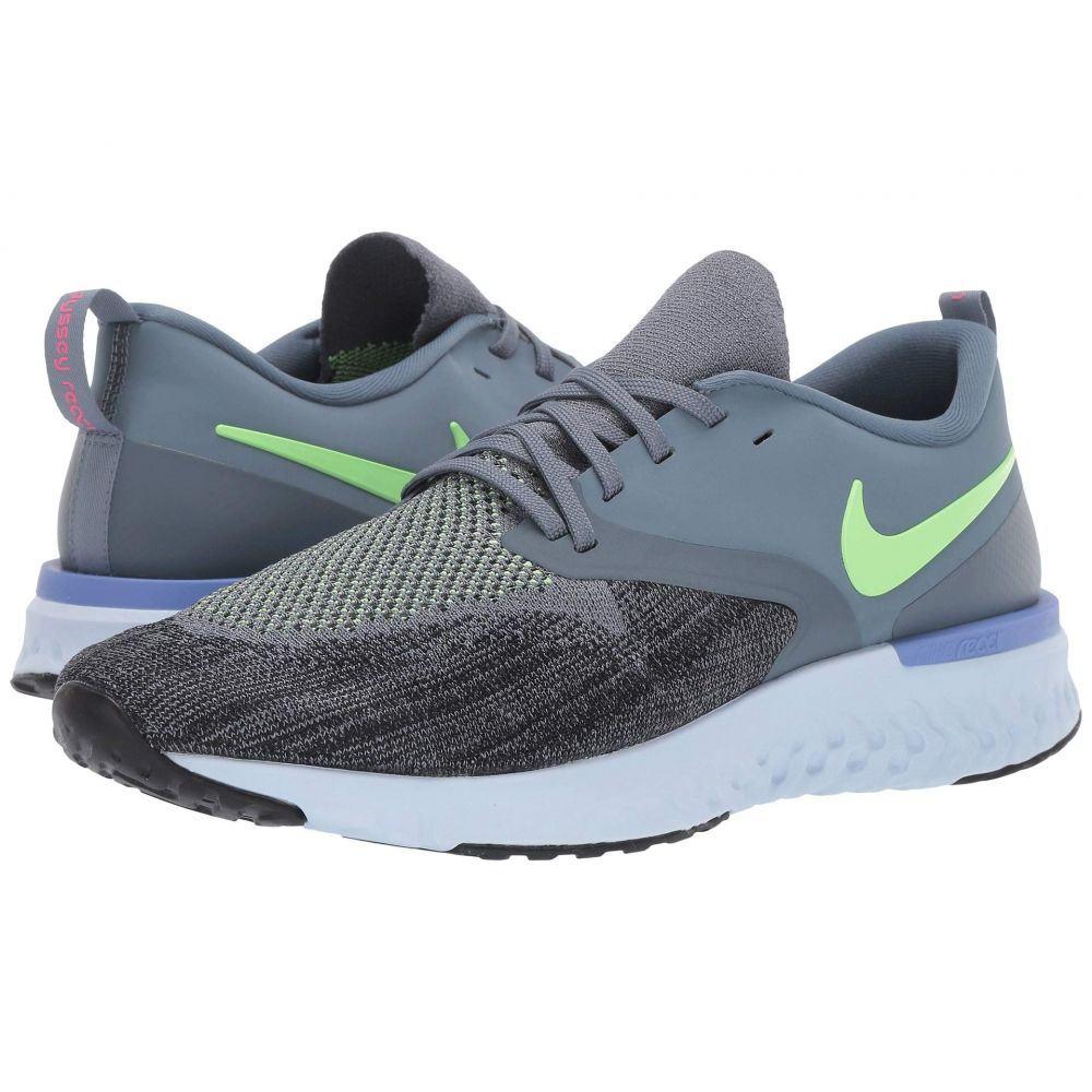 ナイキ Nike メンズ ランニング・ウォーキング シューズ・靴【Odyssey React Flyknit 2】Armory Blue/Lime Blast/Black/Sapphire
