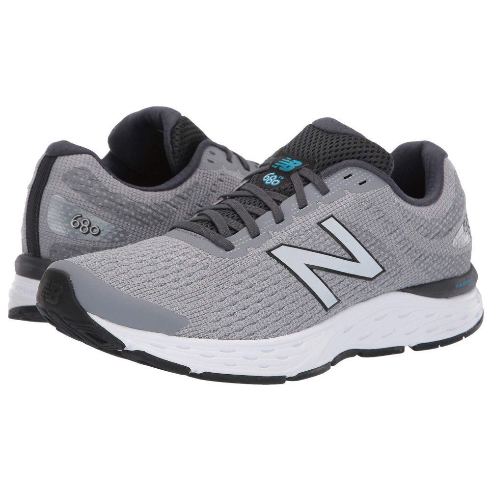 New Balance Men/'s 680v6 Shoes Navy with Red