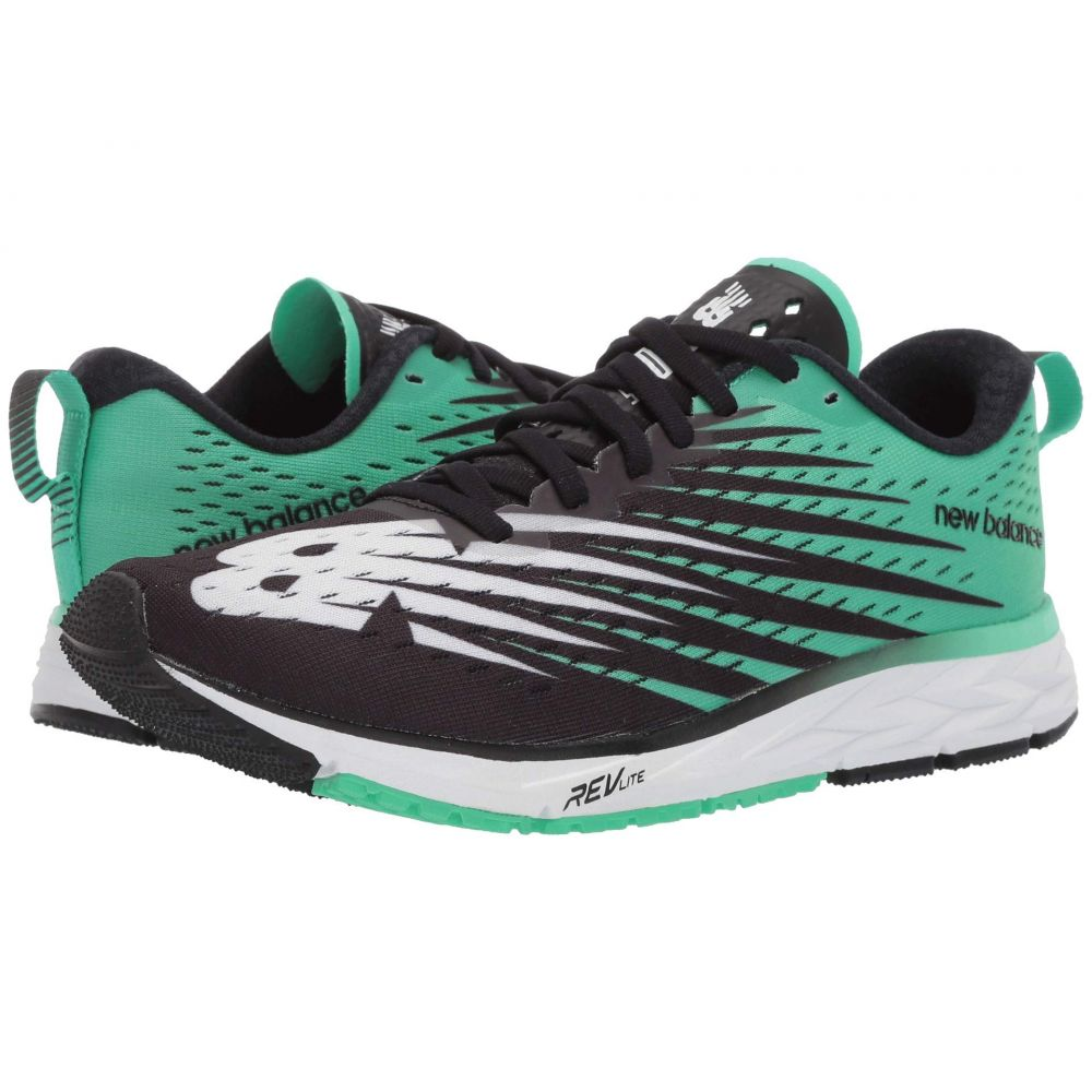 ニューバランス New Balance メンズ ランニング・ウォーキング シューズ・靴【1500v5】Black/Neon Emerald