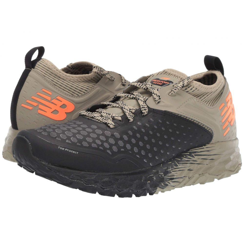 ニューバランス New Balance メンズ ランニング・ウォーキング シューズ・靴【Fresh Foam Hierro v4】Black/Trench