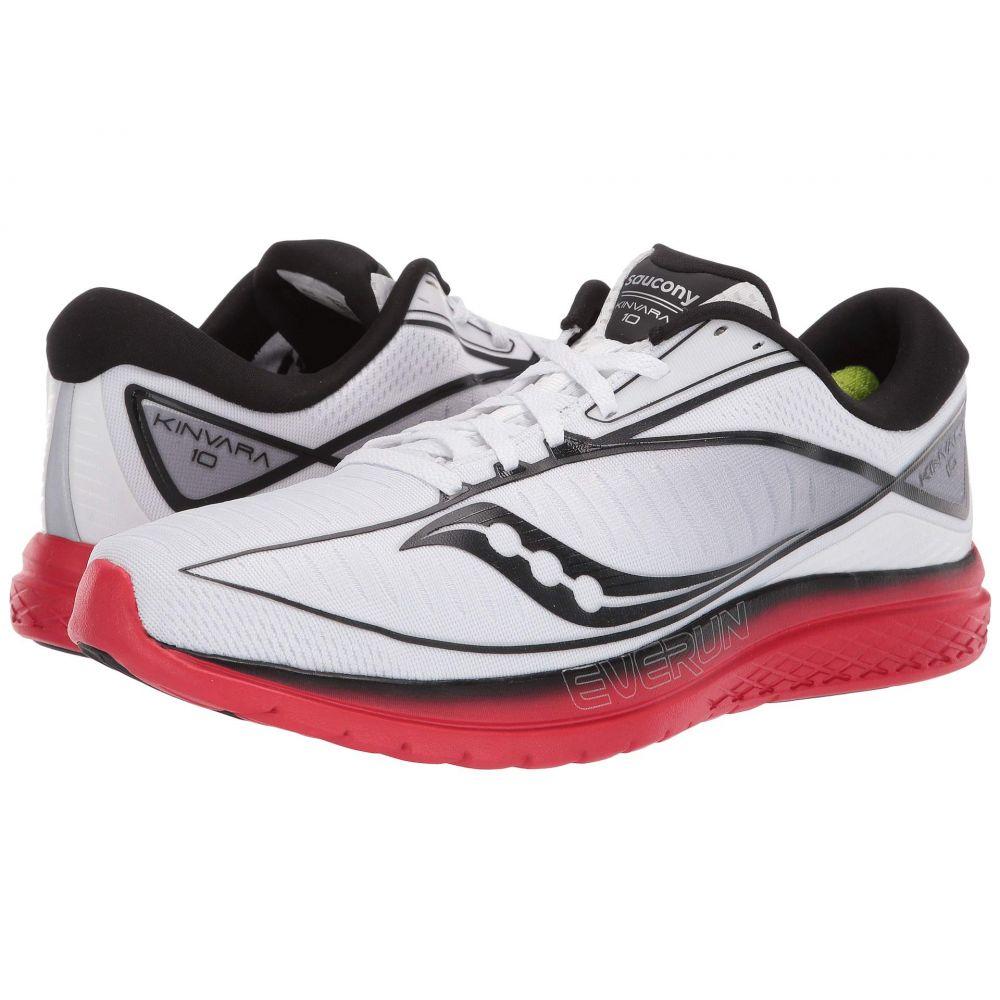 サッカニー Saucony メンズ ランニング・ウォーキング シューズ・靴【Kinvara 10】White/Red