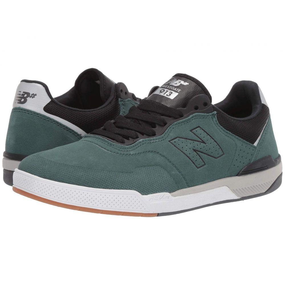 ニューバランス New Balance Numeric メンズ ランニング・ウォーキング シューズ・靴【913】Emerald/Black Suede