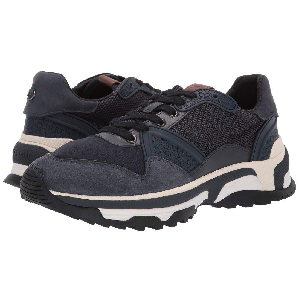コーチ COACH メンズ ランニング・ウォーキング シューズ・靴【Monochrome C143 Runner】Navy