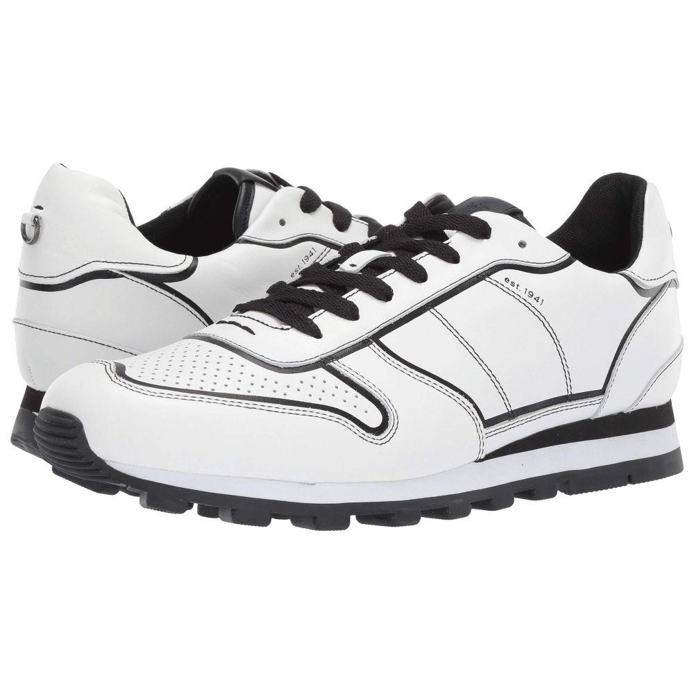 コーチ COACH メンズ ランニング・ウォーキング シューズ・靴【Edgepaint C118 Runner】White