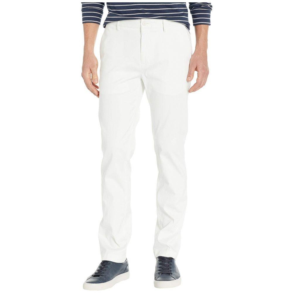 ペリー エリス Perry Ellis メンズ ボトムス・パンツ スキニー・スリム【Slim Fit Stretch Resist Spill Twill Pants】Bright White