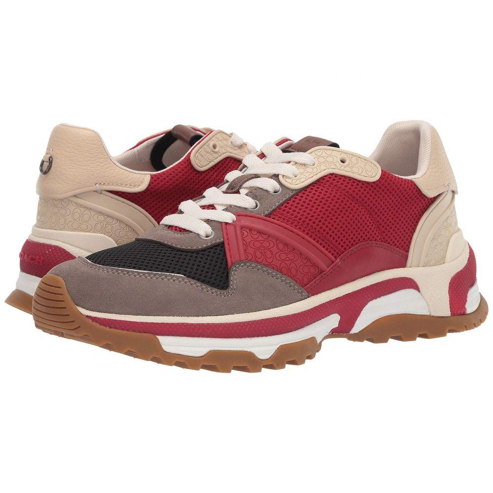 コーチ COACH メンズ ランニング・ウォーキング シューズ・靴【C143 Runner】Red Multi