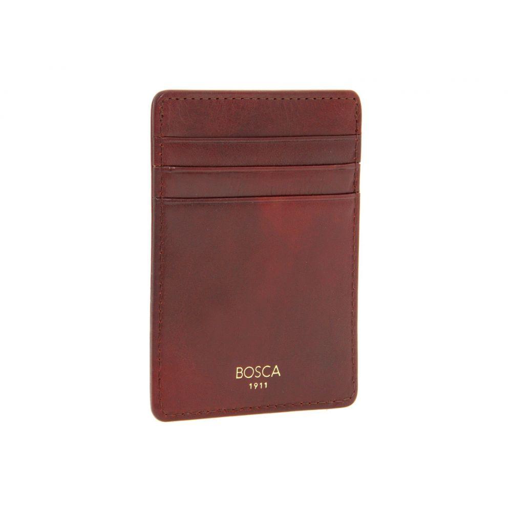 ボスカ Bosca メンズ 財布【Old Leather Collection - Deluxe Front Pocket Wallet】Cognac Leather