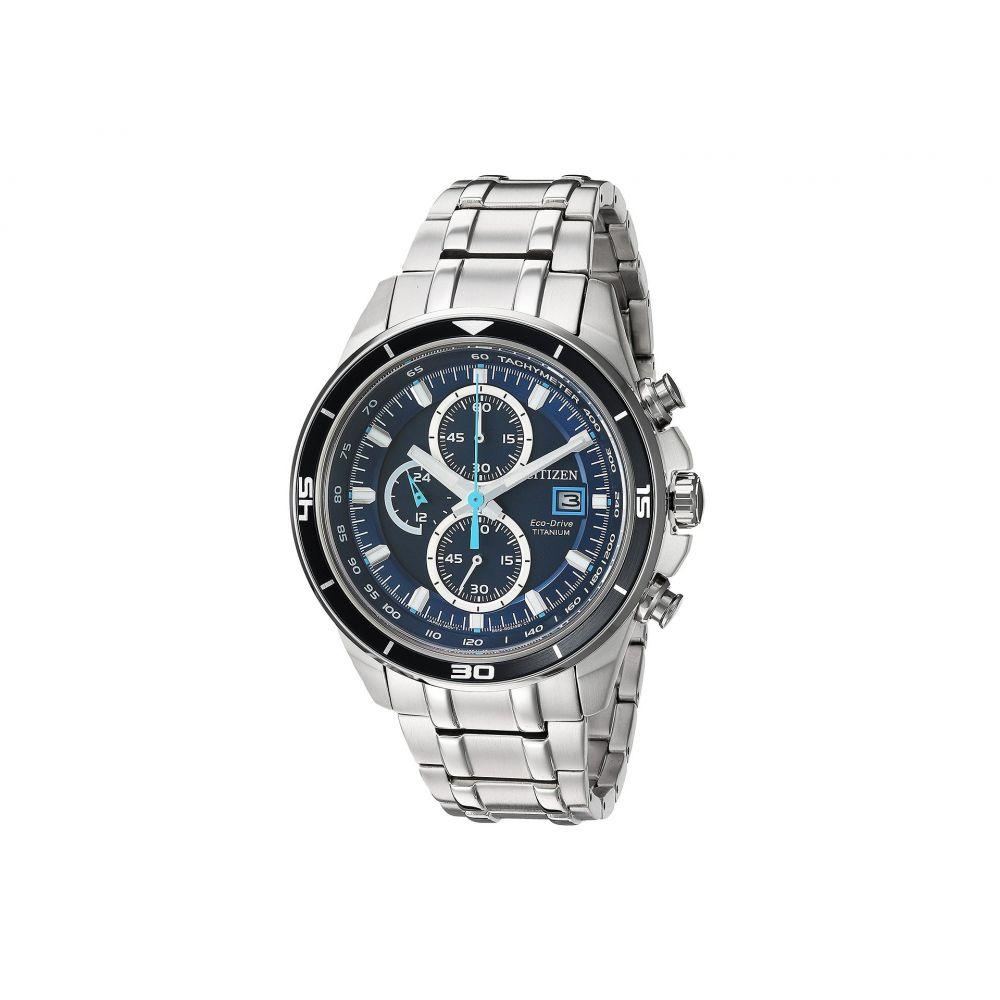 シチズン Citizen Watches メンズ 腕時計【CA0349-51L Eco-Drive】Silver Tone